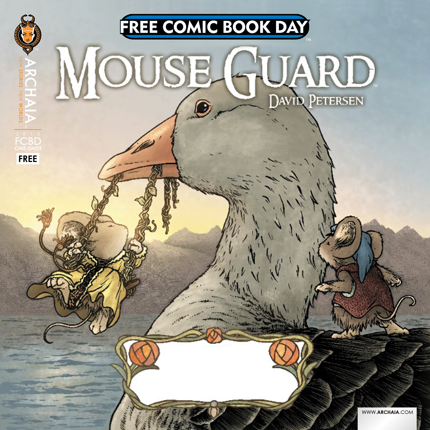 Free Comic Book Day 2013 Cover A-1