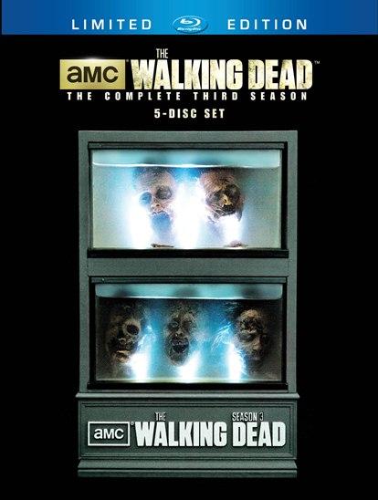 walking dead ss3 disc set