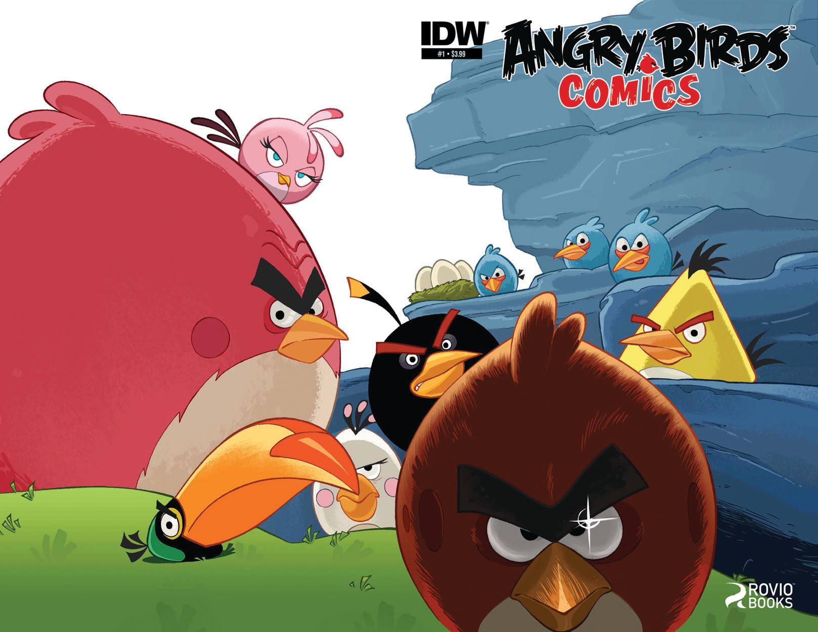 Angry Birds Comic