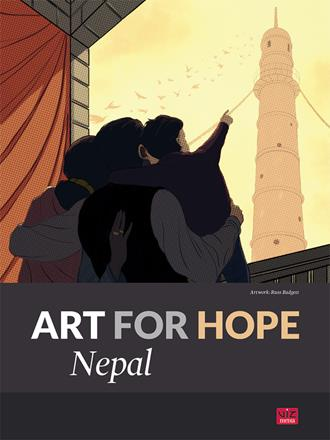 VIZ Media and Autodesk Announce Art for Hope: Nepal to Benefit Victims of the Devastating Himalayan Earthquake