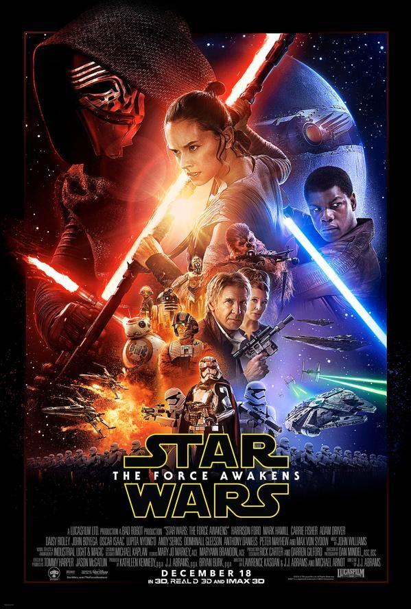 New Star Wars Episode 7 Movie Poster!