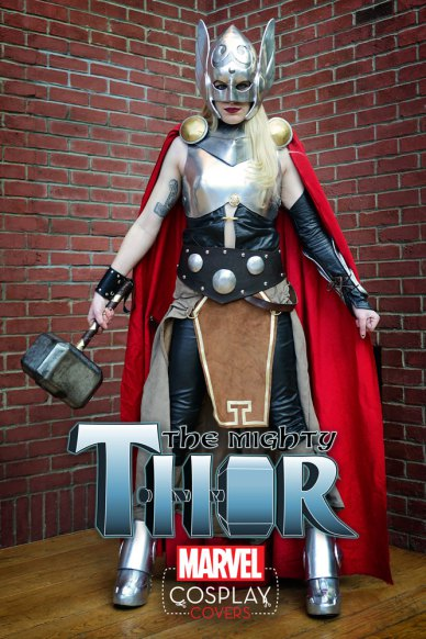 Bring The Thunder – Your First Look at THE MIGHTY THOR #1- Preview with Cosplay Variant Cover!