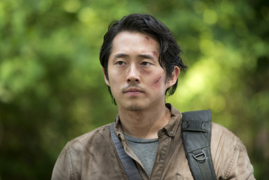Steven Yeun as Glenn Rhee Photo Credit: Gene Page/AMC